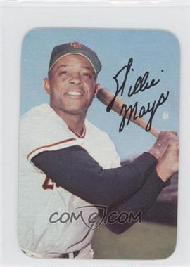 1969 Topps Super Glossy - Test Issue [Base] #65 - Willie Mays