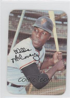 1969 Topps Super Glossy - Test Issue [Base] #66 - Willie McCovey