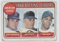 Carl Yastrzemski, Tony Oliva [Good to VG‑EX]