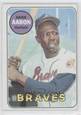 1969 Topps #100 - Hank Aaron