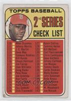 Checklist, Bob Gibson [Good to VG‑EX]