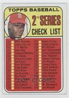 Checklist, Bob Gibson