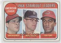 Sam McDowell, Denny McLain, Luis Tiant [Poor]