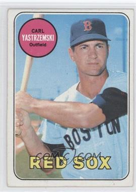 1969 Topps #130 - Carl Yastrzemski