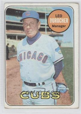 1969 Topps #147 - Leo Durocher [Good to VG‑EX]