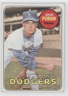 1969 Topps #161 - John Purdin