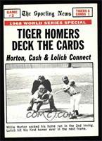 1968 World Series (Game 2) [EX]