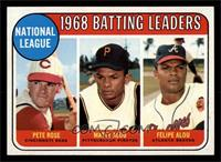 Pete Rose, Felipe Alou, Matty Alou [NM]