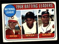 Pete Rose, Felipe Alou, Matty Alou [VG]
