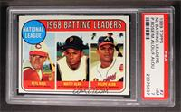 Pete Rose, Felipe Alou, Matty Alou [PSA 7]