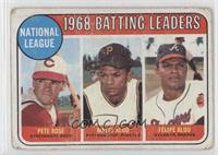 Pete Rose, Felipe Alou, Matty Alou [Poor]