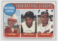 Pete Rose, Felipe Alou [Good to VG‑EX]