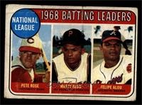 Pete Rose, Felipe Alou [GOOD]