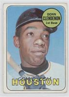 Donn Clendenon (Houston Astros) [Good to VG‑EX]