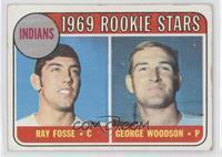 Indians Rookies (Ray Foose, George Woodson) [GoodtoVG‑EX]