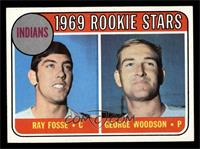 Indians Rookies (Ray Fosse, George Woodson) [EX MT]