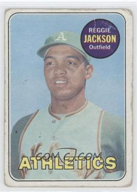 1969 Topps #260 - Reggie Jackson [Poor to Fair]