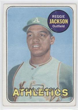 1969 Topps #260 - Reggie Jackson [GoodtoVG‑EX]