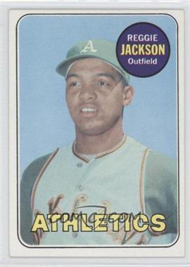 1969 Topps #260 - Reggie Jackson