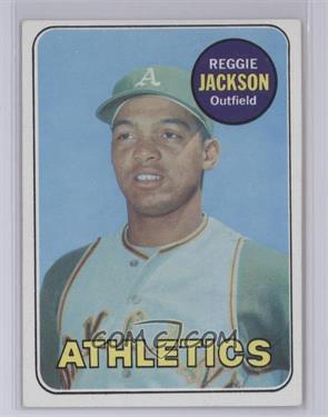 1969 Topps #260 - Reggie Jackson [NearMint]