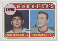Jerry Robertson, Mike Wegener