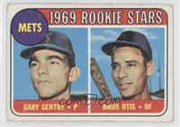 Mets Rookie Stars (Gary Gentry, Amos Otis) [GoodtoVG‑EX]