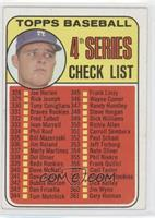 4th Series Checklist (Don Drysdale)