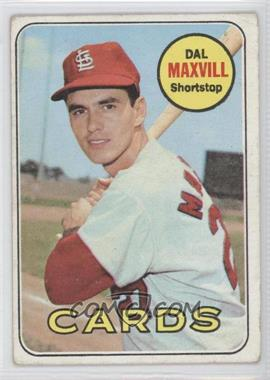 1969 Topps #320 - Dal Maxvill [Good to VG‑EX]
