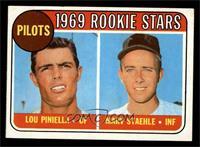 Lou Piniella, Marv Staehle [EX]