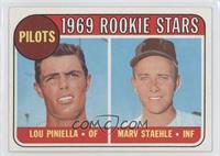 Lou Piniella, Marv Staehle