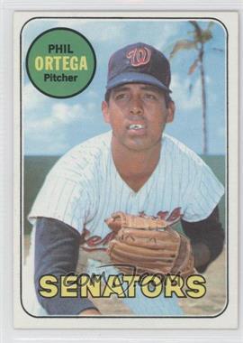 1969 Topps #406 - Phil Ortega