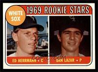 White Sox Rookie Stars (Ed Herrmann, Dan Lazar) [NM]