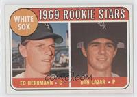White Sox Rookie Stars (Ed Herrmann, Dan Lazar)