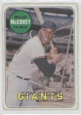 1969 Topps #440.2 - Willie McCovey (White Last Name)