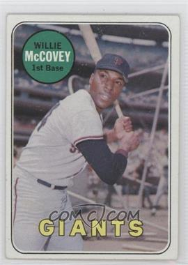 1969 Topps #440.2 - Willie McCovey (White Last Name)