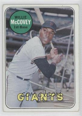 1969 Topps #440.2 - Willie McCovey (White Last Name) [Good to VG‑EX]