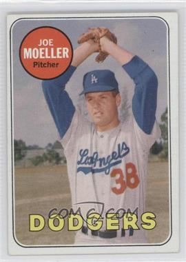 1969 Topps #444.2 - Joe Moeller (White Last Name)