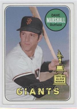 1969 Topps #464.2 - Dave Marshall (Last name white)
