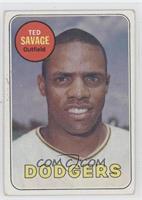 Ted Savage [GoodtoVG‑EX]