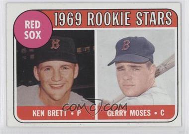 1969 Topps #476 - Ken Brett, Gerry Moses