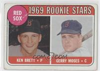 Ken Brett, Gerry Moses (names in white) [Good to VG‑EX]