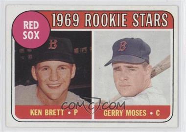 1969 Topps #476.2 - Ken Brett, Gerry Moses