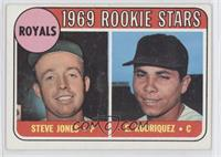 Steve Jones, Ellie Rodriguez (Rodriquez error)