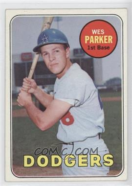 1969 Topps #493 - Wes Parker