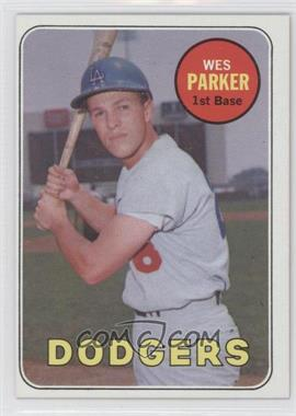 1969 Topps #493.1 - Wes Parker (Last Name in Yellow)