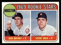 Astros Rookie Stars (Don Bryant, Steve Shea) [NM]