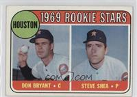 Astros Rookie Stars (Don Bryant, Steve Shea)