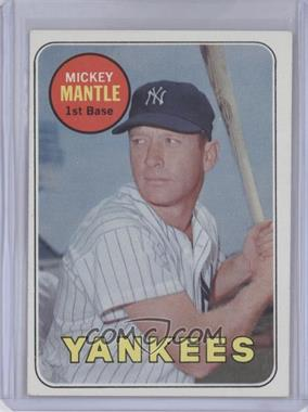 1969 Topps #500 - Mickey Mantle