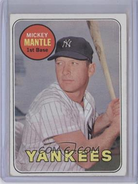 1969 Topps #500 - Mickey Mantle [Good to VG‑EX]