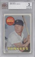 Mickey Mantle (Last Name in Yellow) [BVG 3]
